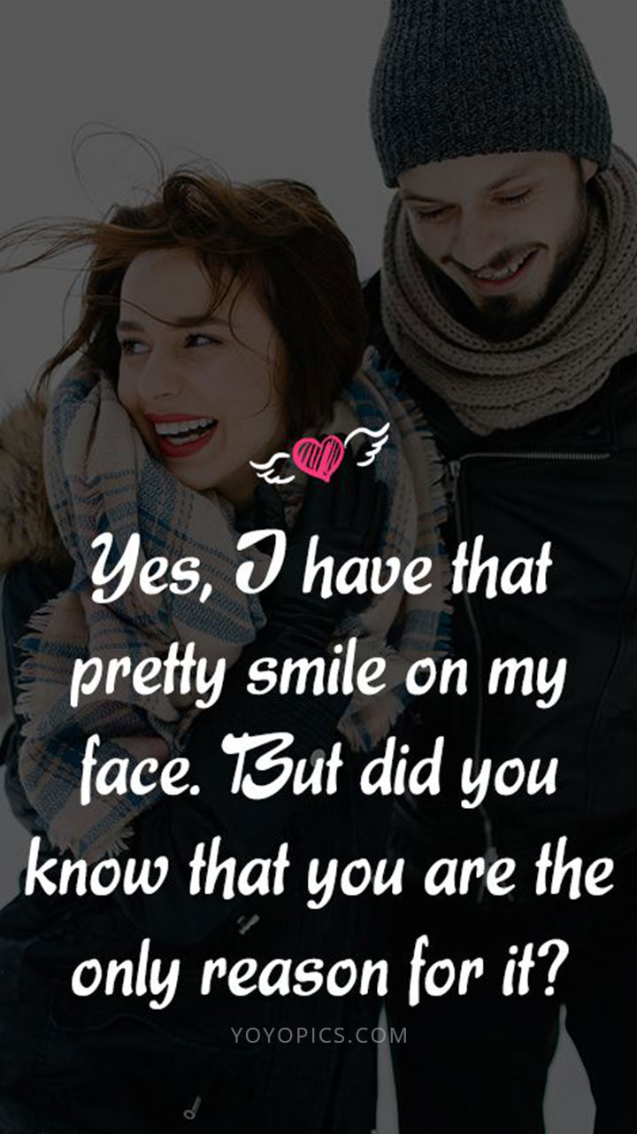 Yes I Have Pretty Smile Instagram WhatsApp Status Quote